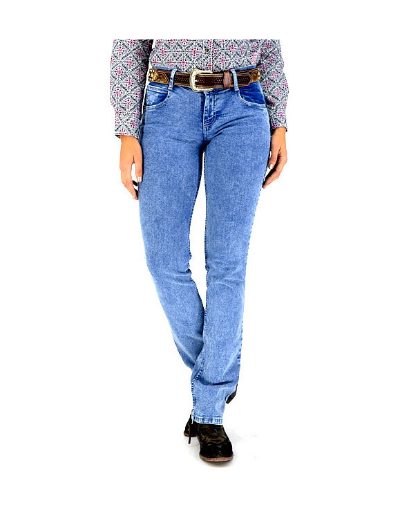 jeans western low rise mujer barrido wrangler portada